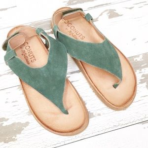 ⭐️NWOT⭐️ Coconuts By Matisse Leather Sandals
